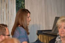 Paige playing piano