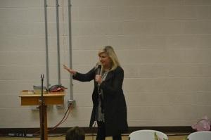 Brenda Ladun, an encourager.